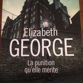 La punition qu'elle mérite de E George (Presses de la cité 670pages )