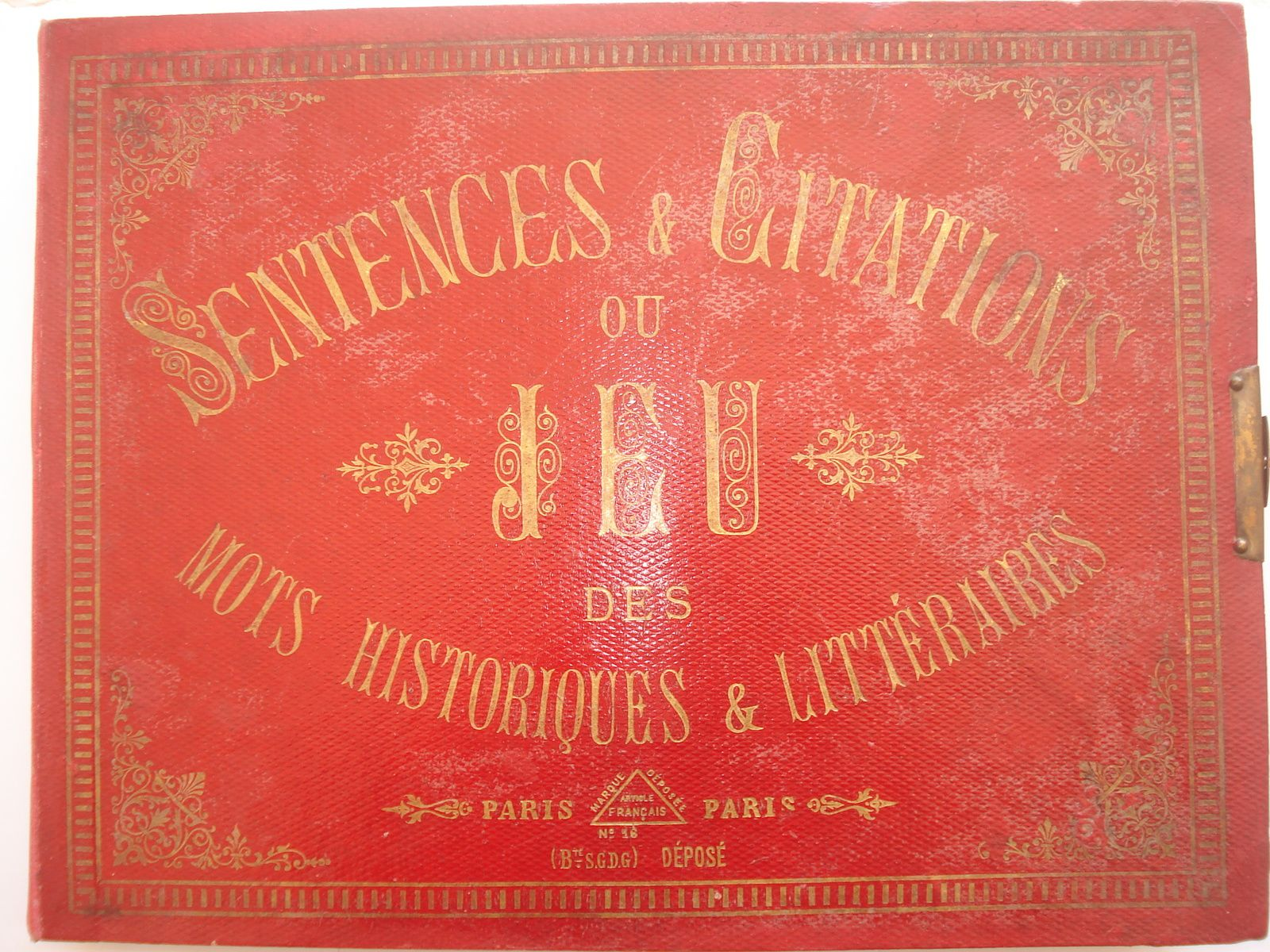 LOTOS HISTOR. personnages/citations