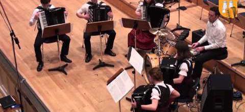 Sandstorm de Darude à l'accordéon