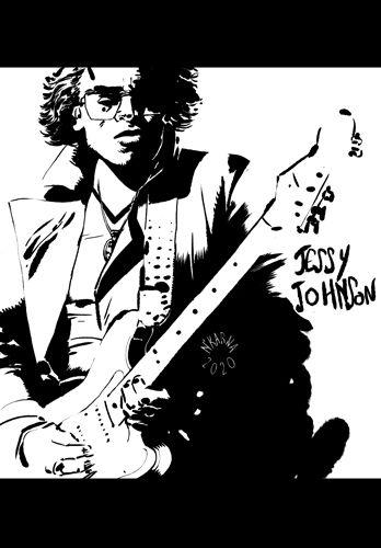musique, art, dessin, illustration, soul, blues, funk