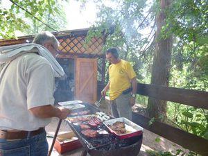 Cuisson du barbecue
