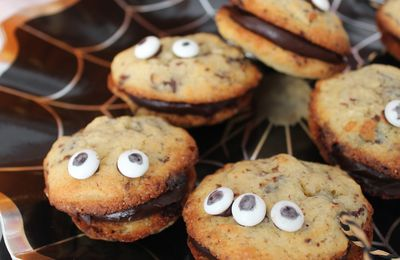 👻 Monster Cookies au chocolat. 🕸{ Halloween}.
