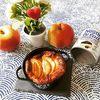 Clafoutis aux pommes sans lactose