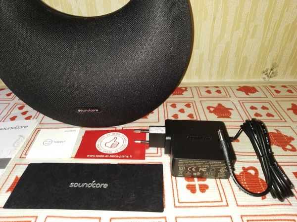 unboxing enceinte nomade Bluetooth Hi-Res Audio SoundCore Model Zero @ Tests et Bons Plans