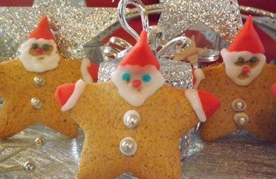 Biscuits Pères Noël, à croquer !!!!