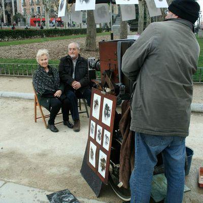 MADRID et l'art dans la rue