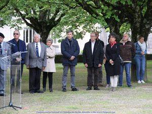 Commémoration Nationale de l'Abandon des Harkis,dimanche 12 Mai 2019 à Périgueux (24)