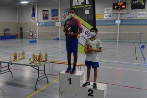 Résultats Badminton : 1er TDJ à Apt