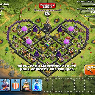 Clash of Clans : le village lover