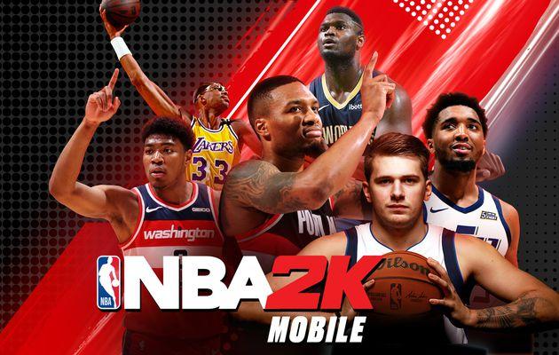 [ACTUALITE] NBA 2K Mobile Saison 4 - Vivez toute l'intensité de l'action de la NBA où que vous soyez