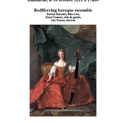 Concert baroque à Bouge.