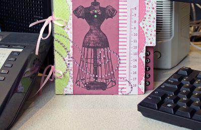 Agenda mini-book avec Fanny/Agenda mini libro con Fanny