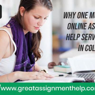 Why One Must Choose Online Assignment Help Services Being In College?
