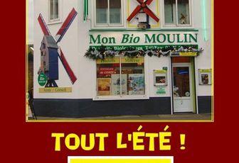 Mon Bio Moulin - Magasin BiO Dunkerque - est OUVERT tout l'été !