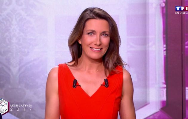 📸13 ANNE-CLAIRE COUDRAY @ACCoudray @TF1 @TF1LeJT ce soir #legislatives2017 #vuesalatele