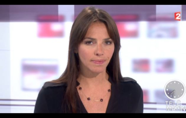 [2012 09 24] SOPHIE LE SAINT - FRANCE 2 - LE JOURNAL @07H30