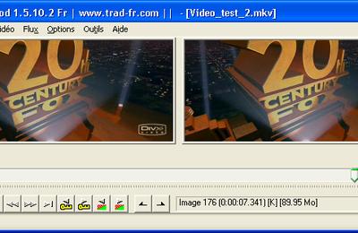 Présentation du logiciel Virtualdub MOD