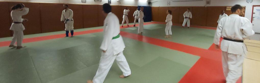 Jeudi 23 sept .... un super cours de JuJitsu avec Yoann !