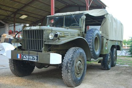 Restauration Dodge 6x6 - WC 62