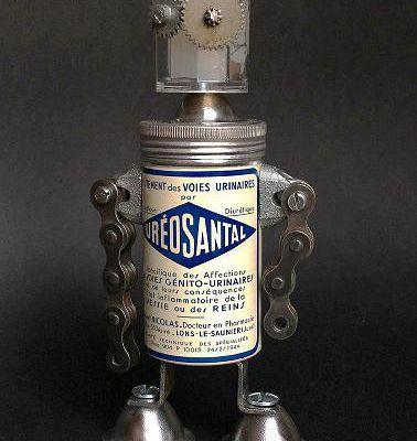 Scrap metal robot: Uréosantal le bienfait génito-urinaire.