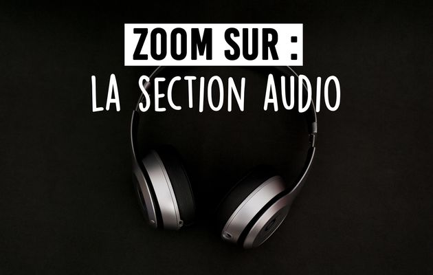 Zoom sur : la section Audio ! 🎵