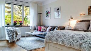 How to Decorate a One-Bedroom Apartment to Make It Feel Comfortable | LA Interiors