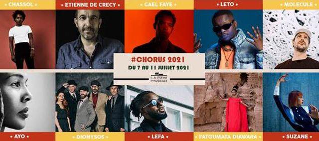 FESTIVAL CHORUS 2021 : Du 7 au 11 juillet à La Seine Musicale !