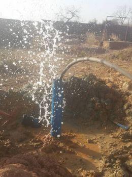 L'eau à Bonolyo.