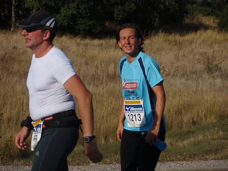 100 kilomètres de Millau 26 septembre 2009. Béatrice et Stéphane.