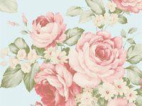 Missing summer, une sélection de tissus et papiers peints à fleurs