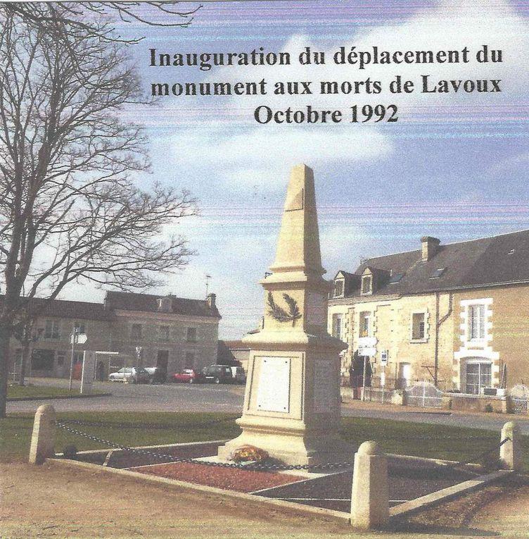 LE MONUMENT AUX MORTS DE LAVOUX : HISTOIRE ET EVENEMENTS
