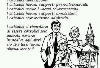 Un buon motivo per non essere cattolico