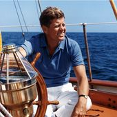 Yachting - the boats of John Fitzgerald Kennedy, president, sailor and skipper! - Yachting Art Magazine
