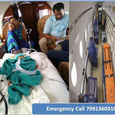 King Air Ambulance Service in Patna: Equipped with Advanced Medical Facilities