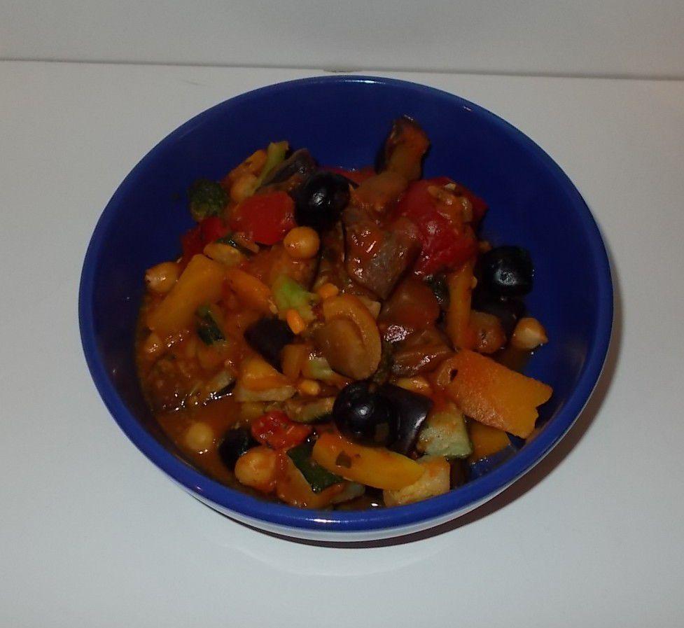 iglo Veggie Love Gemüse a la Mediterran Tomaten-Sauce