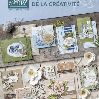 Présentation du nouveau catalogue Stampin'Up ! / Vide scraproom / Make and take