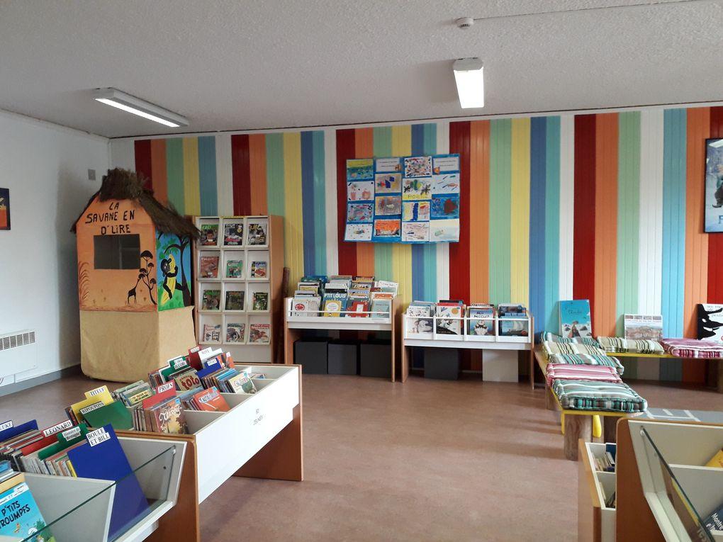 Expo sur Paul Klee à la médiathèque de Bréhan