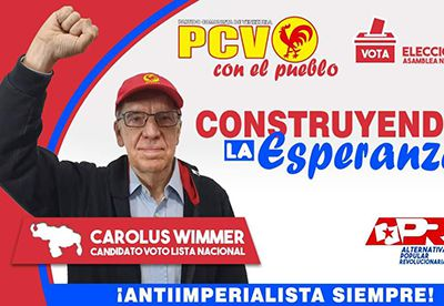 Venezuela – élections – résultat et analyse du PCV – Interview de Carolus Wimmer
