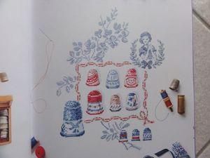 Mon atelier au fil des saisons à broder au point de croix de Véronique Enginger
