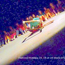 Ce que vous verrez sur le festival Mimésis, à la MDE, les 18, 19 et 20 mars 2019.