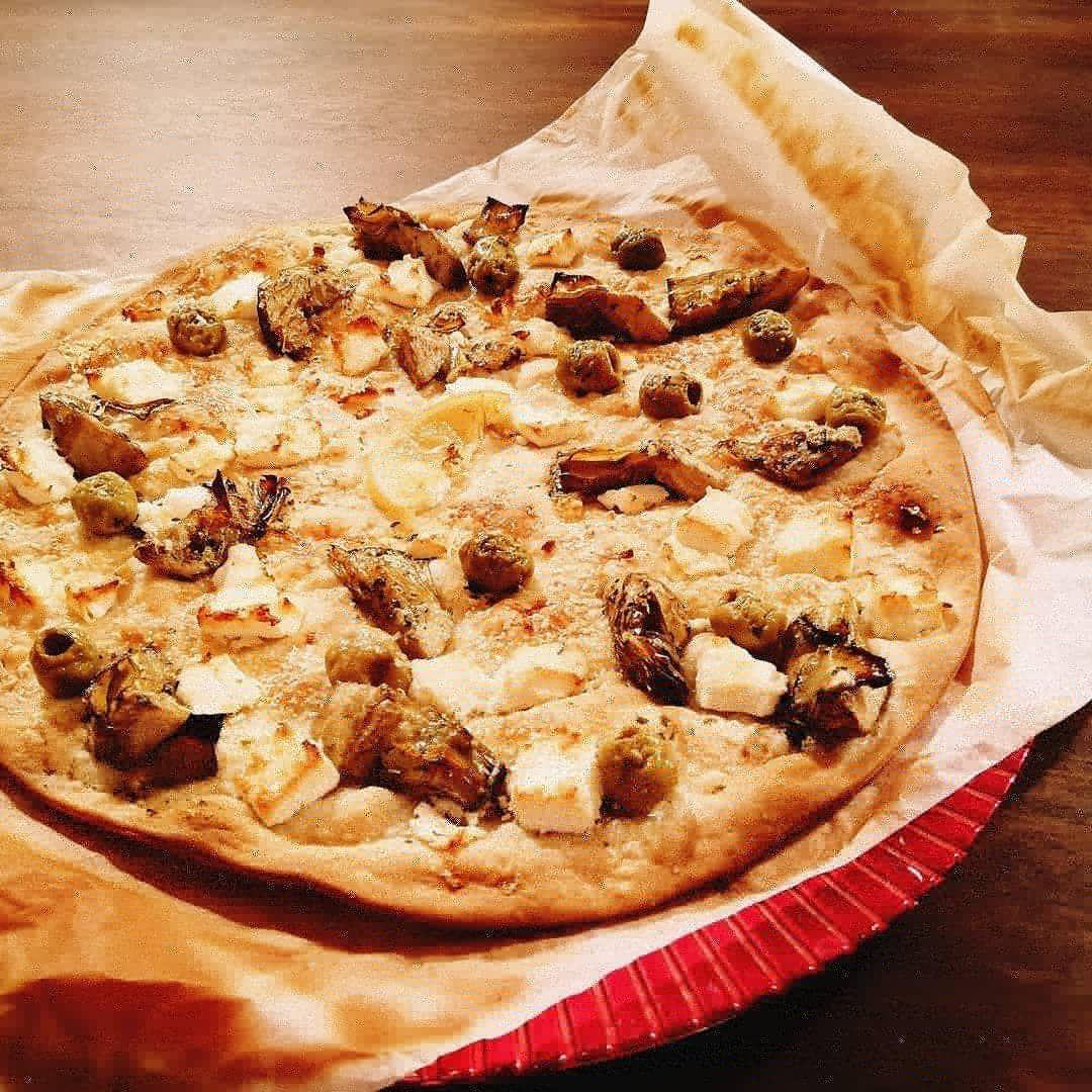 recette tarte du sud artichauts, olives au citron, fêta et parmesan