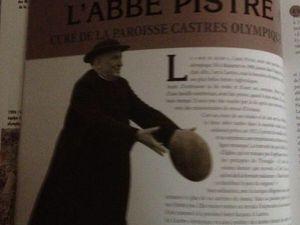 L'Abbé Pistre, Pape du Rugby
