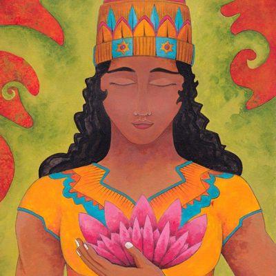 Projet d'illustration jeunesse: Buddha