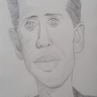 Caricature de Gad Elmaleh