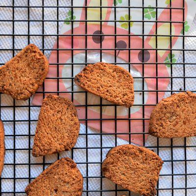 Biscuits à la farine de châtaigne et saveur anis