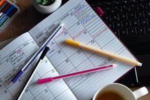 """Comment je m'organise pour bloguer - mon """"blogget"""" journal"""