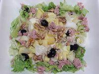 Salade d'endives, comté et noix