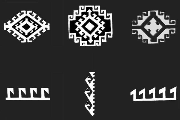 Symbolique des kilims suite : EJDER - Le dragon