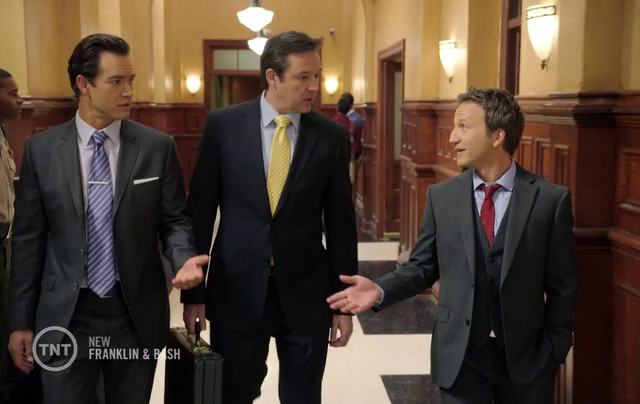 Critiques Séries : Franklin & Bash. Saison 3. Episode 6. Freck.