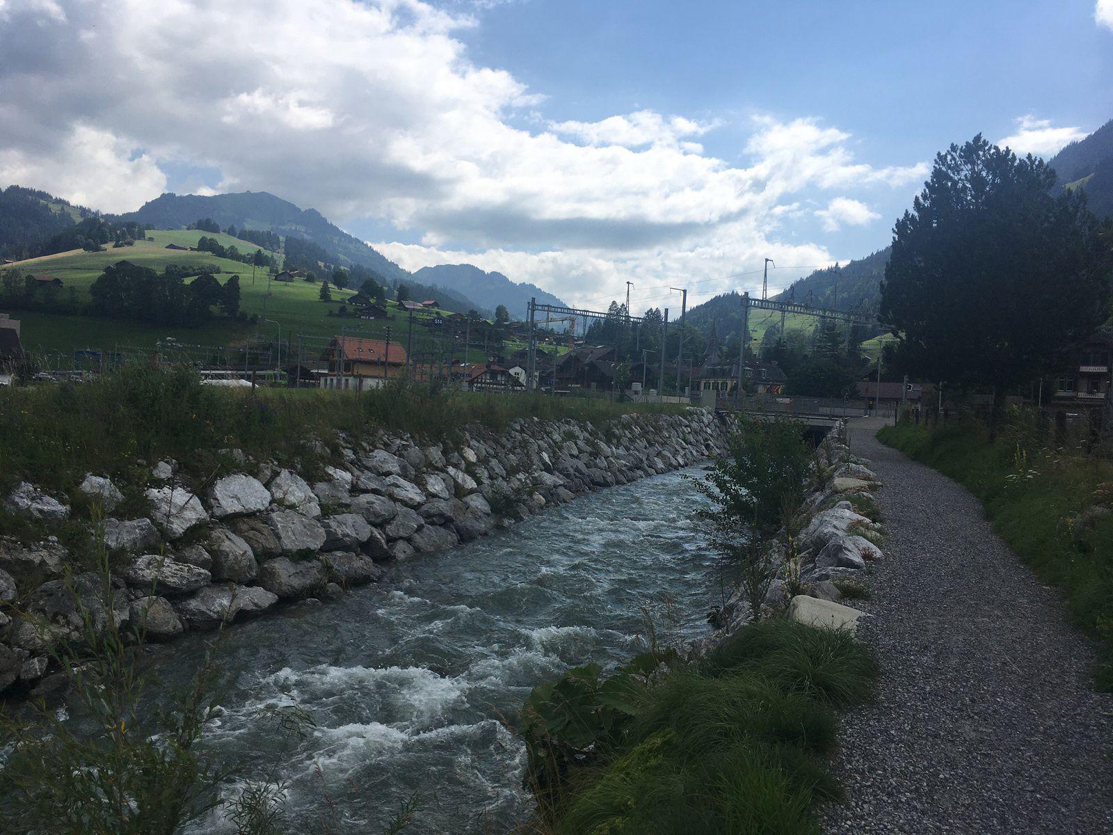 18 juillet 2021 : Balade au bord de la Simme / Forellensee (Suisse)